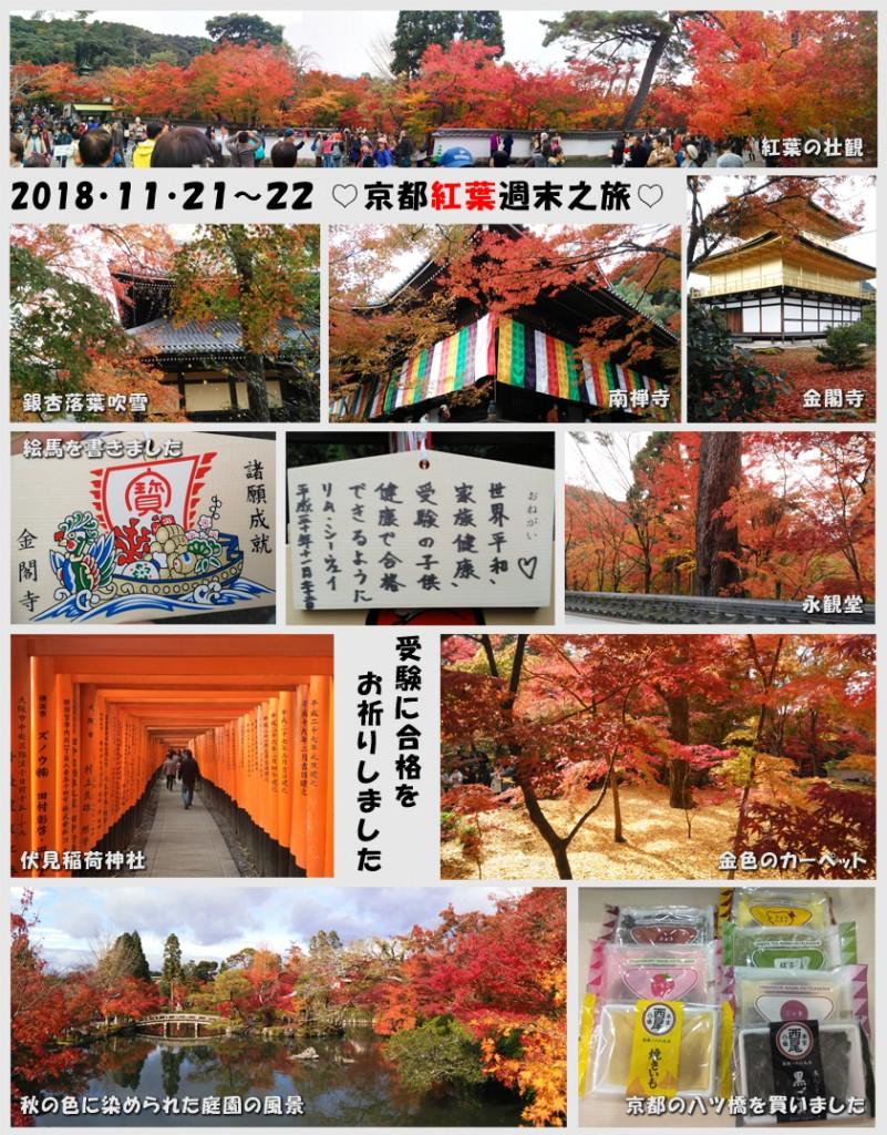 Kyoto Trip Collage